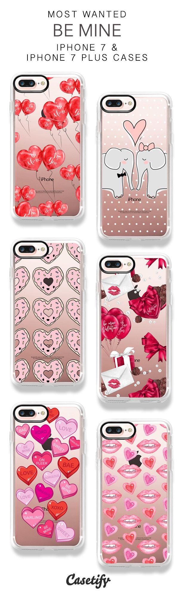 Most Wanted Be Mine iPhone 7 Cases & iPhone 7 Plus Cases here > https://www.casetify.com/collections/valentines#/