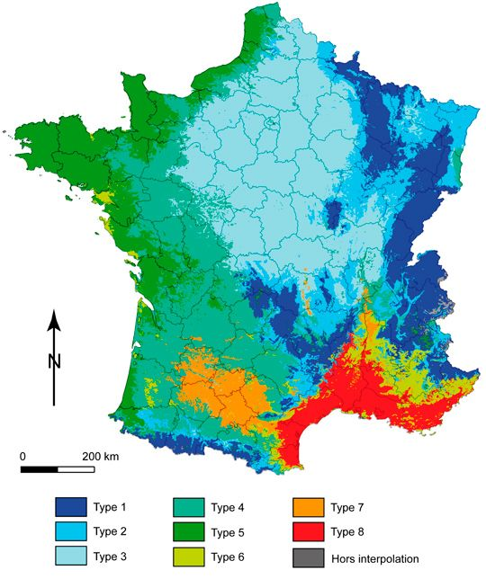 France Climate Map    http://travideos.es/france/paris/top-videos/el_clima_en_francia/-ZE1tvDGdH8
