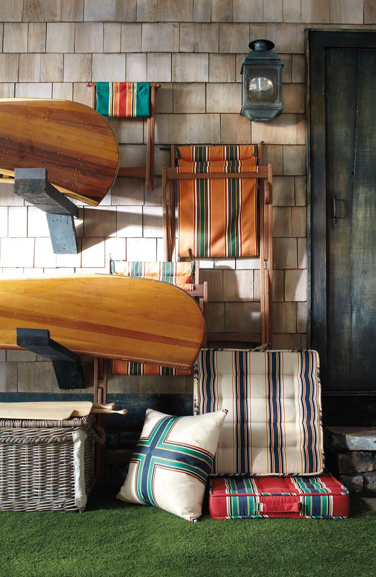 Inspired By Vintage Awning Stripes Fun Colors Abound In