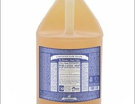 7 household cleaners you can make from castile soap.