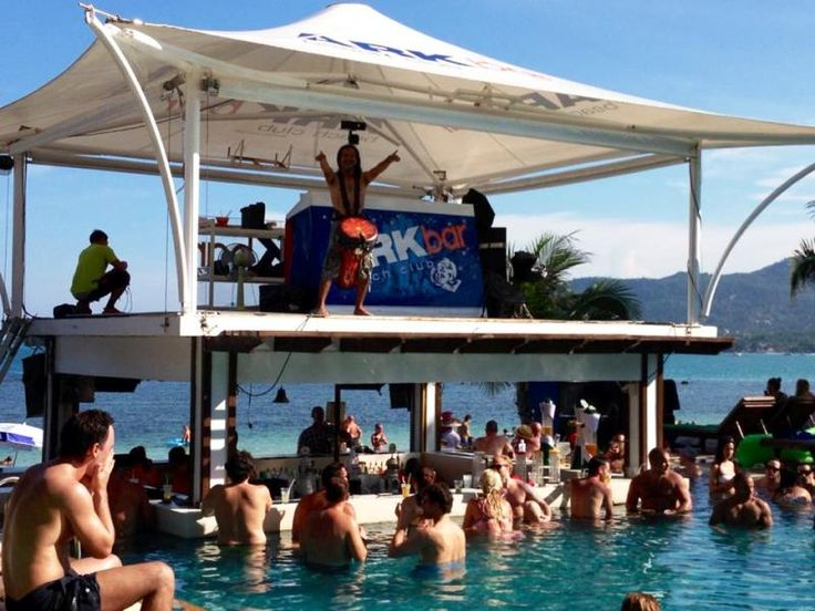 island info-ark bar-pool party-chaweng-chaweng beach-thailand-holiday-travel-koh samui-ko samui