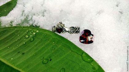 """Кольца ручной работы. Ярмарка Мастеров - ручная работа Кладдахские кольца """"Легенда про любовь...."""". Handmade."""