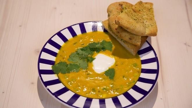 Indiase wortelsoep - Vandaag gemaakt, is echt heerlijk!