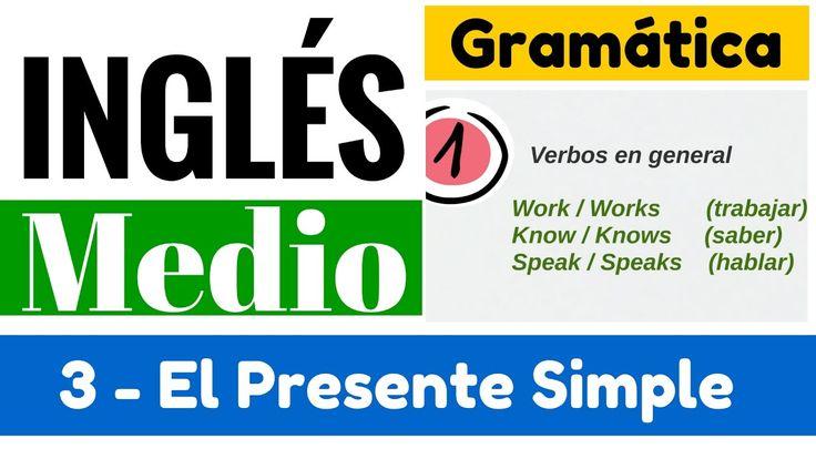 Presente simple en inglés explicación en español (Oraciones afirmativas ...
