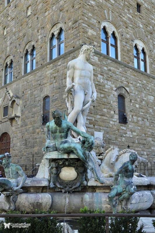 Piazza della Signoria (FI) - Fontana del Nettuno