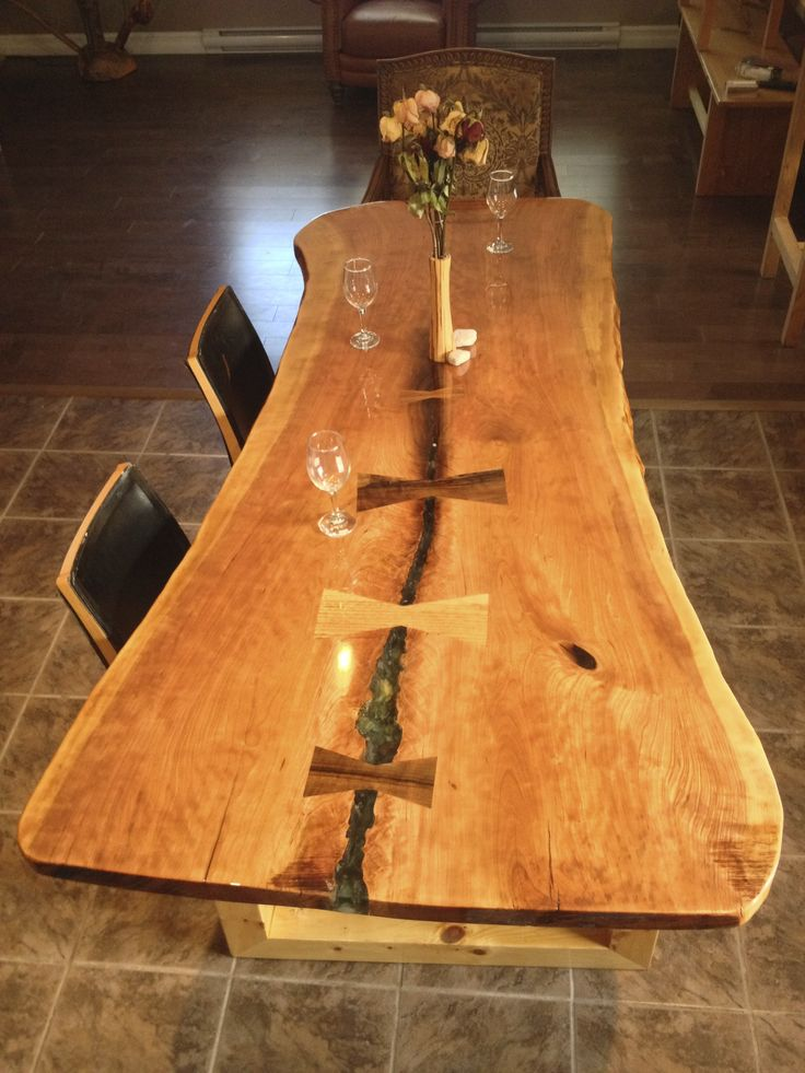 Best 58 Best Live Edge Dining Tables Images On Pinterest 400 x 300