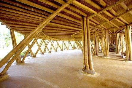 Architecture: Roof Bamboo Design 3. Bali Bamboo Design, Unique House, Largest Bamboo Structure, World Building Design, Indonesian Architectu...