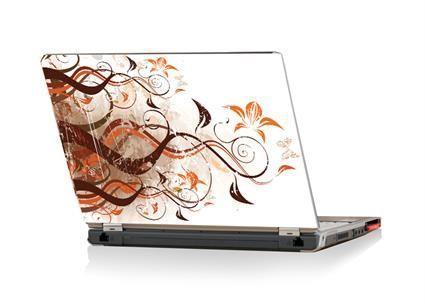 13inch Autumn Flowers Laptop Skin