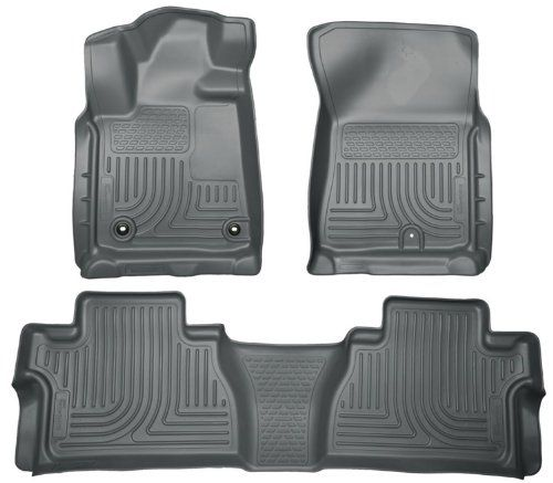 Husky Liners Front 2nd Seat Floor Liners Fits 1417 Tundra Double Cab Read More At The Image Link This Is An Affil Husky Liners Tundra Crewmax Floor Liners