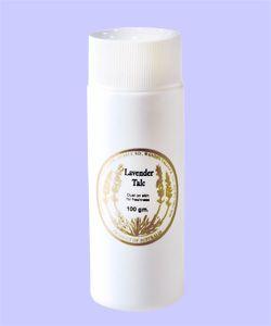 Lavender Talc By Warratina Lavender Farm. A soft talcum powder for dusting the body. Lightly fragranced.