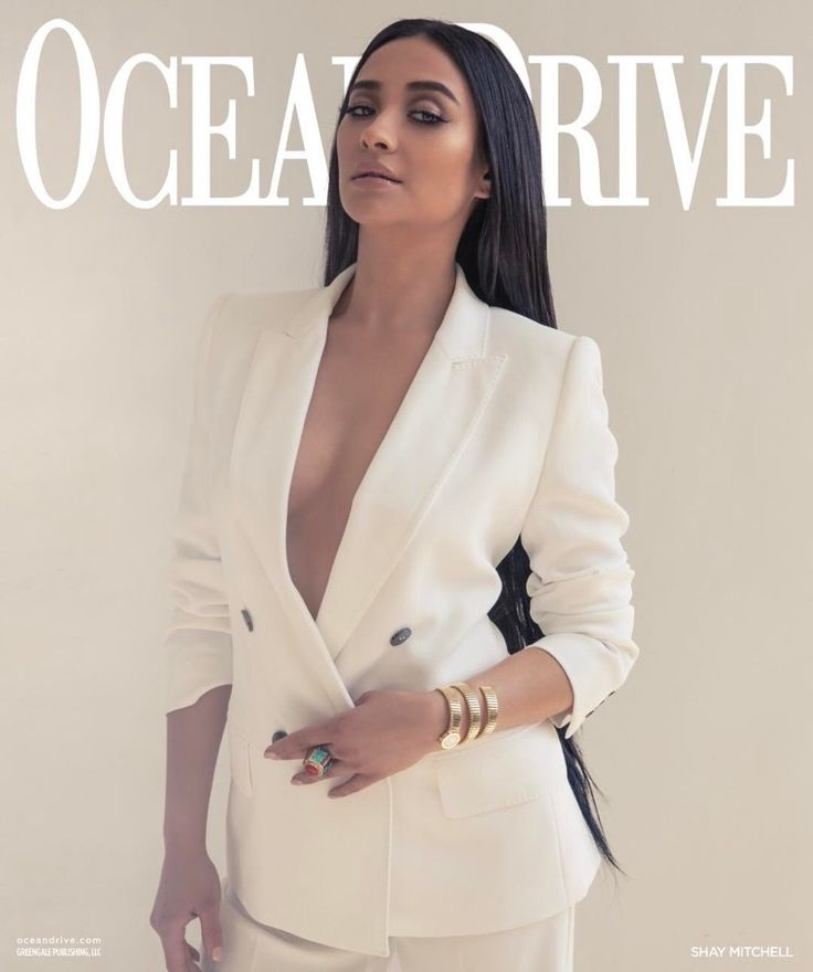 Shay Mitchell on Ocean Drive Magazine May-June 2017 Cover