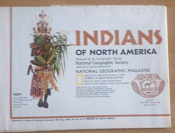 Indians of North America Supplement to National Geographic