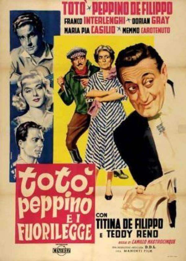 Totò, Peppino e i... fuorilegge. 1956