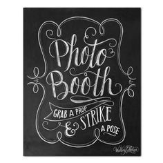 """A hand lettered, vintage-style """"Please Sign Our Guestbook"""" print to display at your shabby chic, rustic wedding!"""