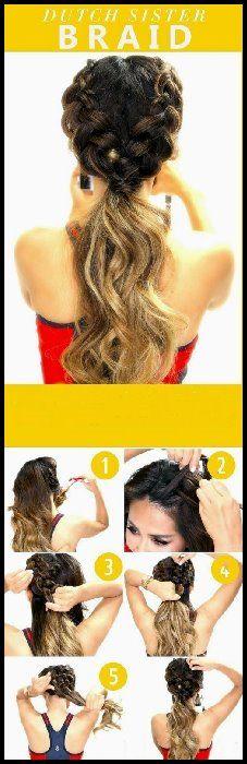 10 Super-Trendy Easy Frisuren für die Schule   – Neue Frisuren