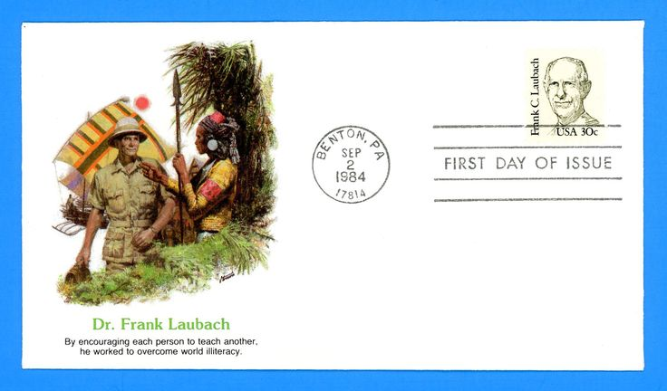 Frank C. Laubach First Day Cover by Fleetwood