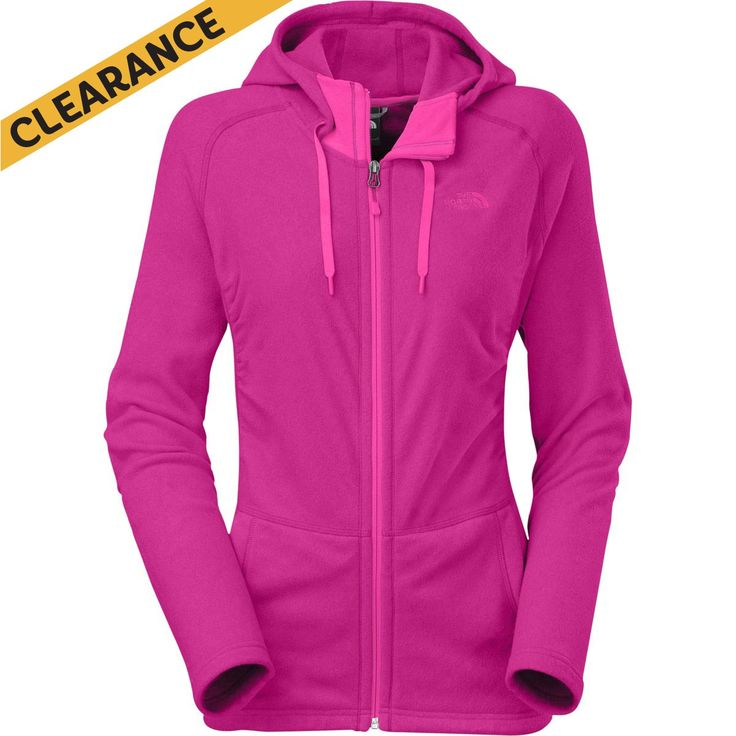 The North Face Mezzaluna Hoody - Fuschia Pink Heather/Womens