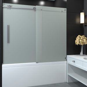 Frosted Shower Doors For Tubs