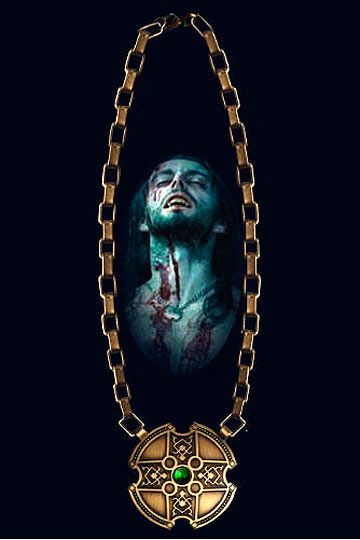 Collar Lucian, Underworld, escala 1:1 Hollywood Collectibles  Espectacular réplica oficial del collar que luce el personaje de <b>Lucian</b> en el film <b>Underworld</b>.