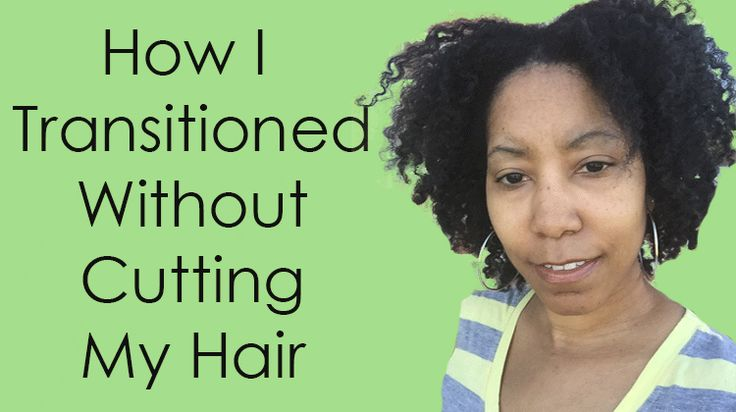 How I Went Natural Without a Big Chop via @napturallycurly