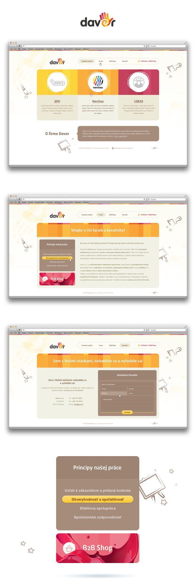 JOVI & Daver | Art4web | Kreatívna internetová agentúra | Tvorba webstránok, Grafický design, Copywriting, SEO