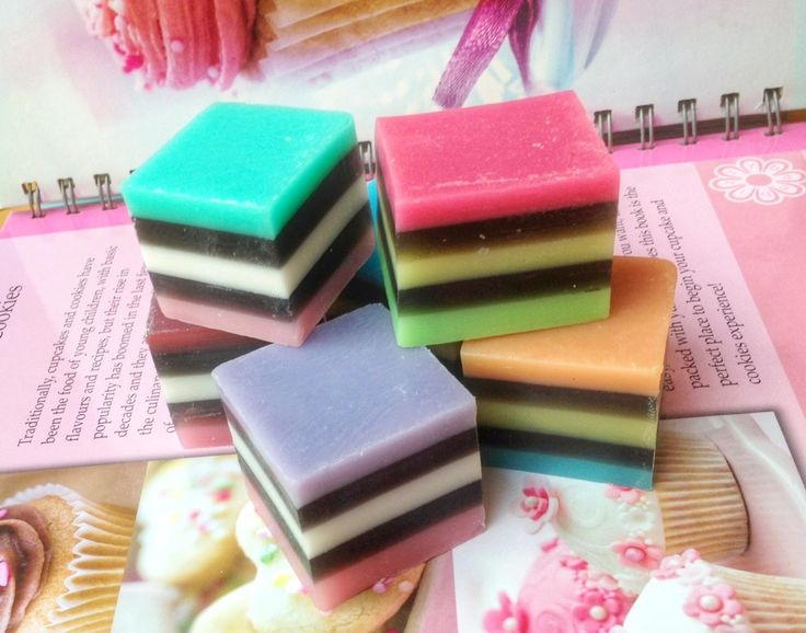 These SOAPS look good enough to eat!! They are made in New Zealand from all natural ingredients.  www.rosaliving.co.nz www.rosaliving.com.au