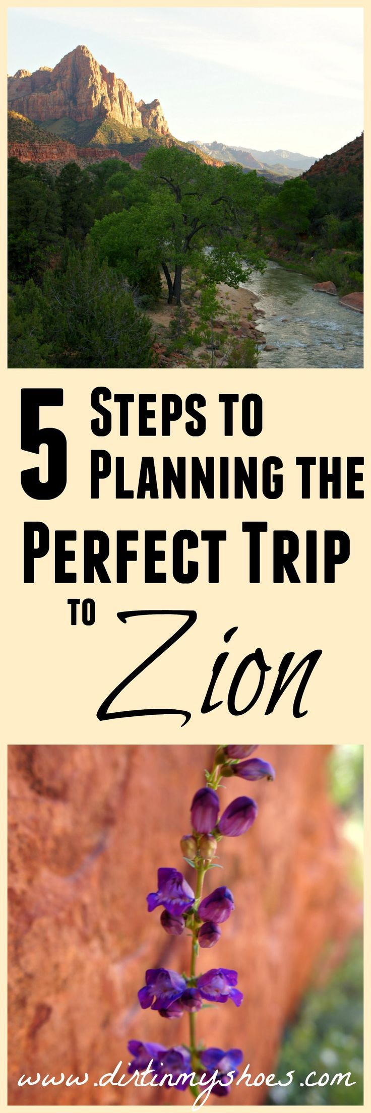 Plan the perfect trip to Zion National Park in 5 steps with help from a former park ranger!