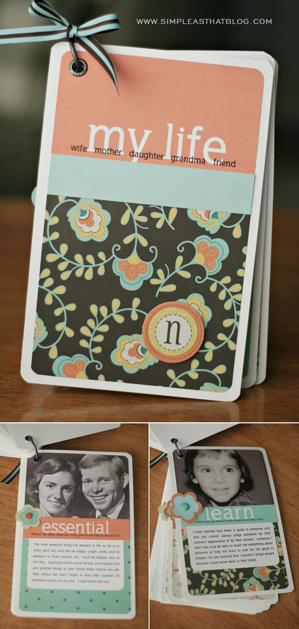 All about Mom Mother's Day Mini album. Includes FREE digital template. Ah perf for mama!