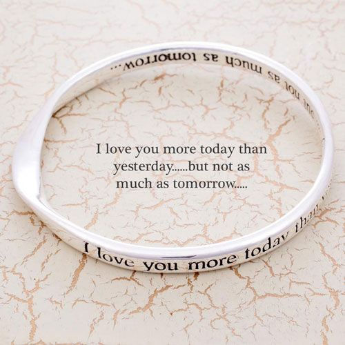I Love You More Today Than Yesterday: 'I Love You More Today Than Yesterday... But Not As Much