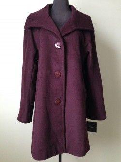 Save 73% Ellen Tracey Wool Coat Sz 12  Original retail:  $325 plus tax Our price:  $99 inclusive