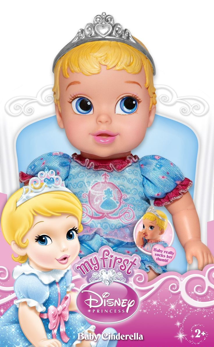 Disney Princess Cinderella My First Baby Doll: Amazon.de: Spielzeug