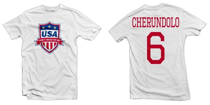 USA Legend, Don't Tread on Me Hero Tee: Steve Cherundolo Printed Tee