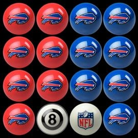 #Buffalo #Bills Pool Ball Set