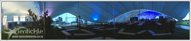 Tent interiors at the Whale Festival this past weekend
