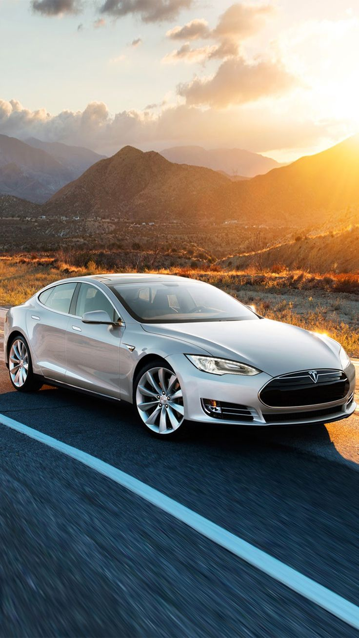 Tesla Model S iPhone 6/6 plus wallpaper Авто
