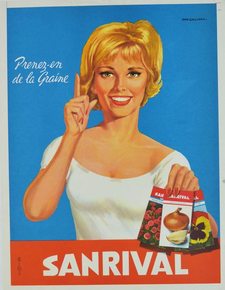Sanrival, prenez en de la graine - 1960's - (Emmanuel Gaillard) -