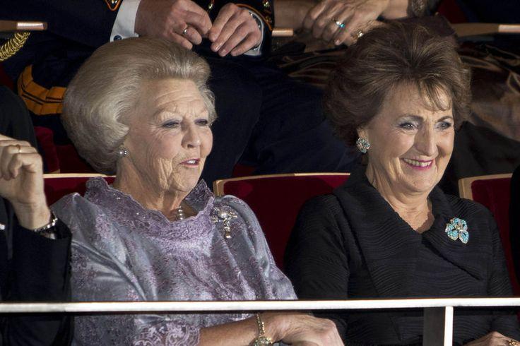 Prinses Beatrix en Prinses Margriet