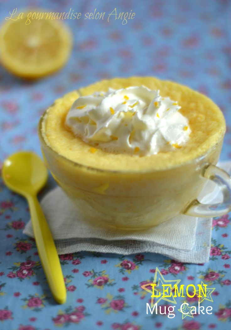 mug cake au citron 2
