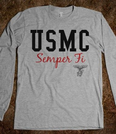 USMC - Marines - Devil Dogs - Leathernecks - Grunts - Jarheads - Semper Fi - Marine Love - Oorah - Marine Clothing - Marine Sweat-Shirt