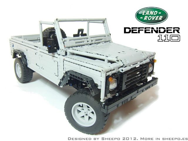LEGO CUUSOO – Land Rover Defender 110 | By Sheepo