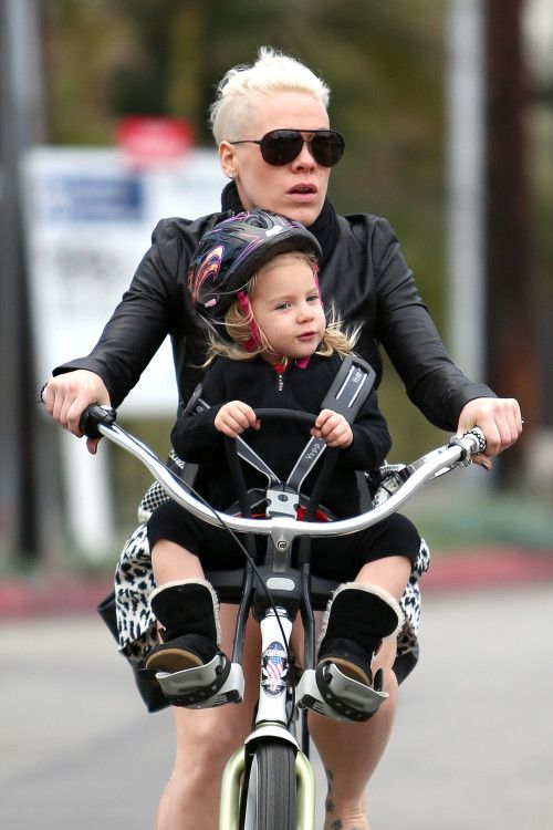 Pink and Willow are Biker Girls