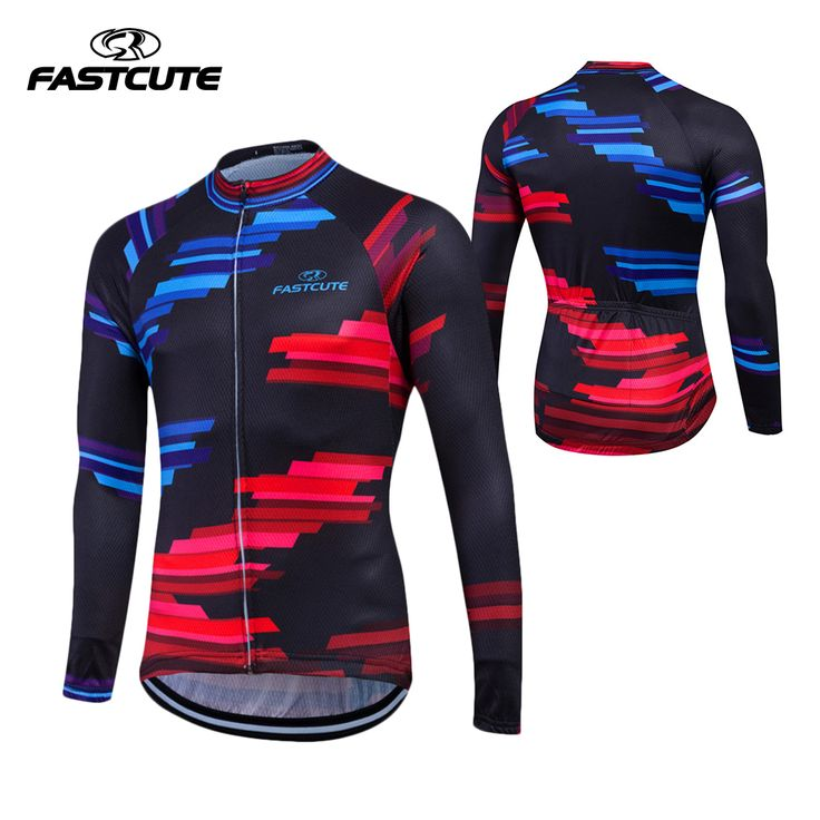 FASTCUTE NEW 2017 Long Sleeve Pro Cycling Jerseys Men Mtb Clothing Bicycle Maillot Equipacion Ciclismo Sportwear Bike Clothes #Affiliate