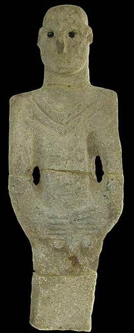 The first human statue, 11.000 years old. Şanlıurfa Museum, Türkiye (Turkey)