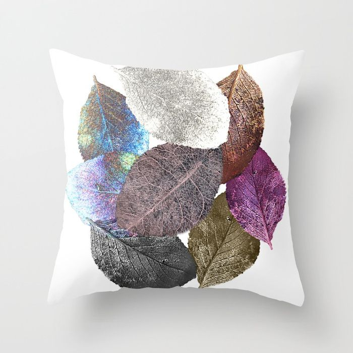 Buy Leaf mosaic(33) Throw Pillow by maryberg. Worldwide shipping available at Society6.com. Just one of millions of high quality products available.