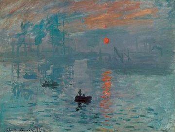 Imprese, východ slunce - Impression, soleil levant, 1872 Obrázky | Obrazy | reprodukce