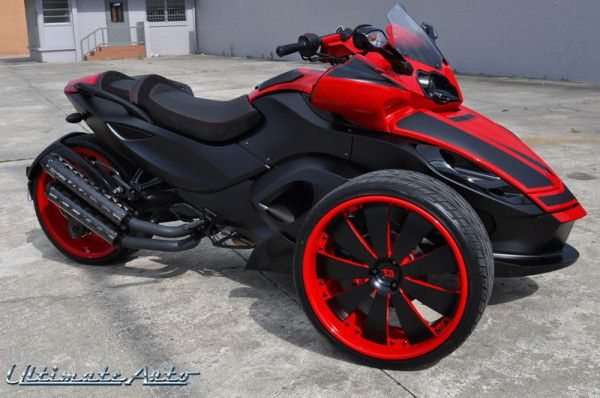 Can Am Spyder 3