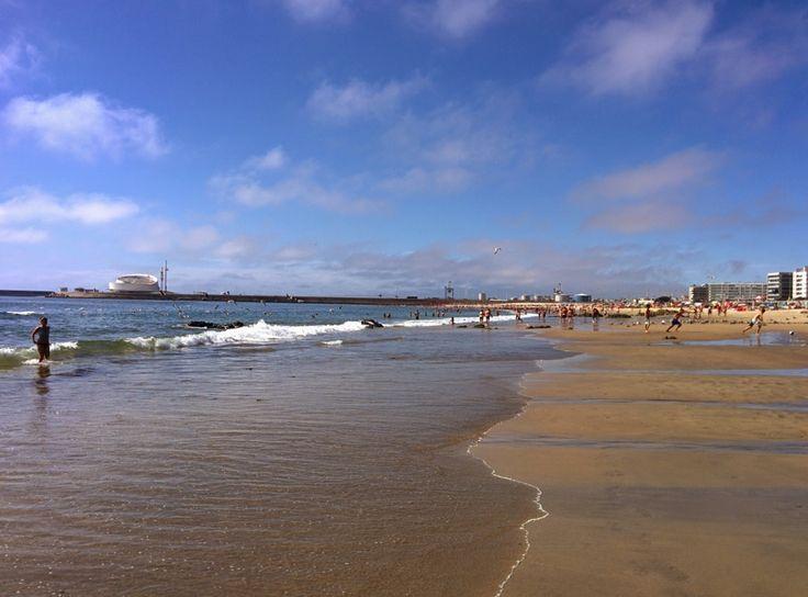 Porto - Ocean beach at Boavista