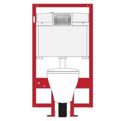 Aquia® Wall-Hung Dual-Flush Toilet, 1.6 GPF & 0.9 GPF, Elongated Bowl - TotoUSA.com