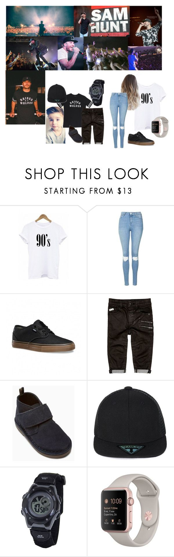 """sam hunt consert"" by jessie098 on Polyvore featuring Topshop and Vans"