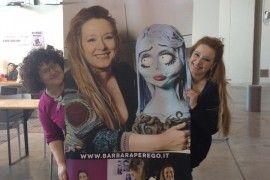 Con la bravissima Manuela Michieli a Hobby Show
